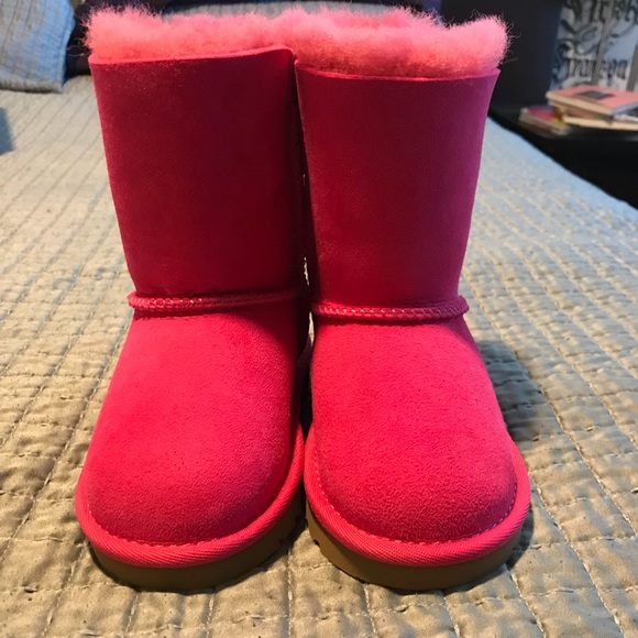 ce136021854 UGG Australia Kids Bailey Bow Hot Pink Boots